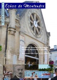 bulletin municipal de Montendre n°3 été 2015