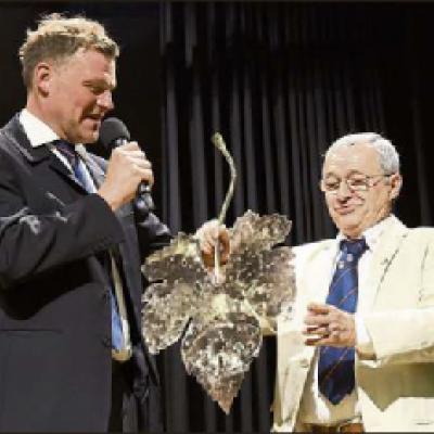 Heiko Heinzmann et Annick Brard les deux responsables du jumelage